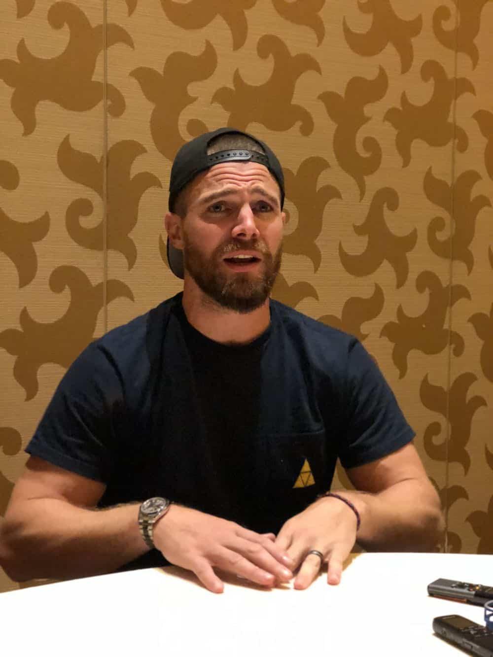 Arrow Press Room Comic Con 2018 04