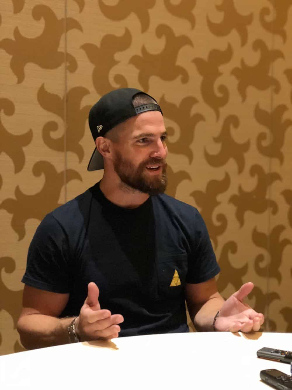 Arrow Press Room Comic Con 2018 05