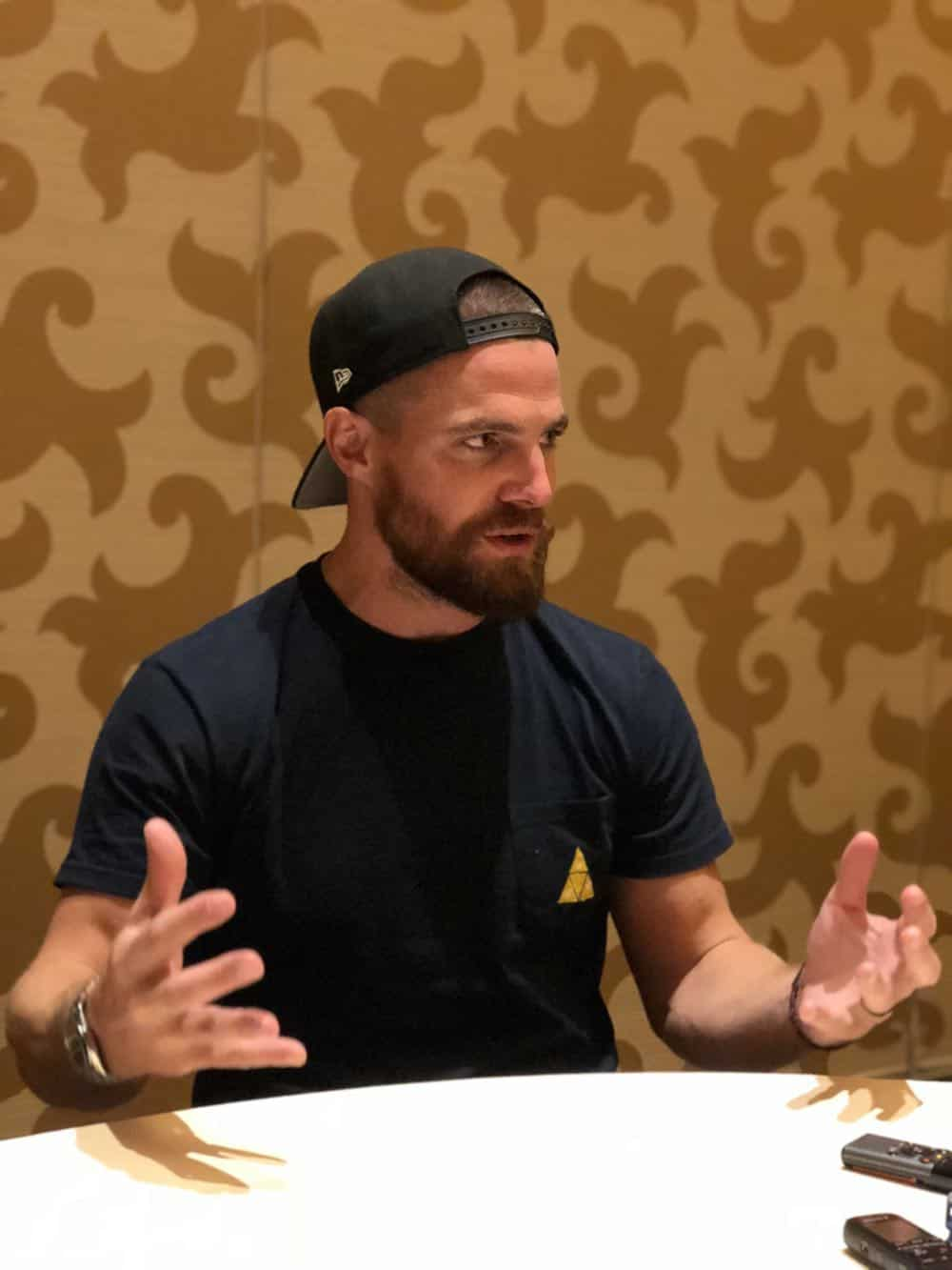 Arrow Press Room Comic Con 2018 06