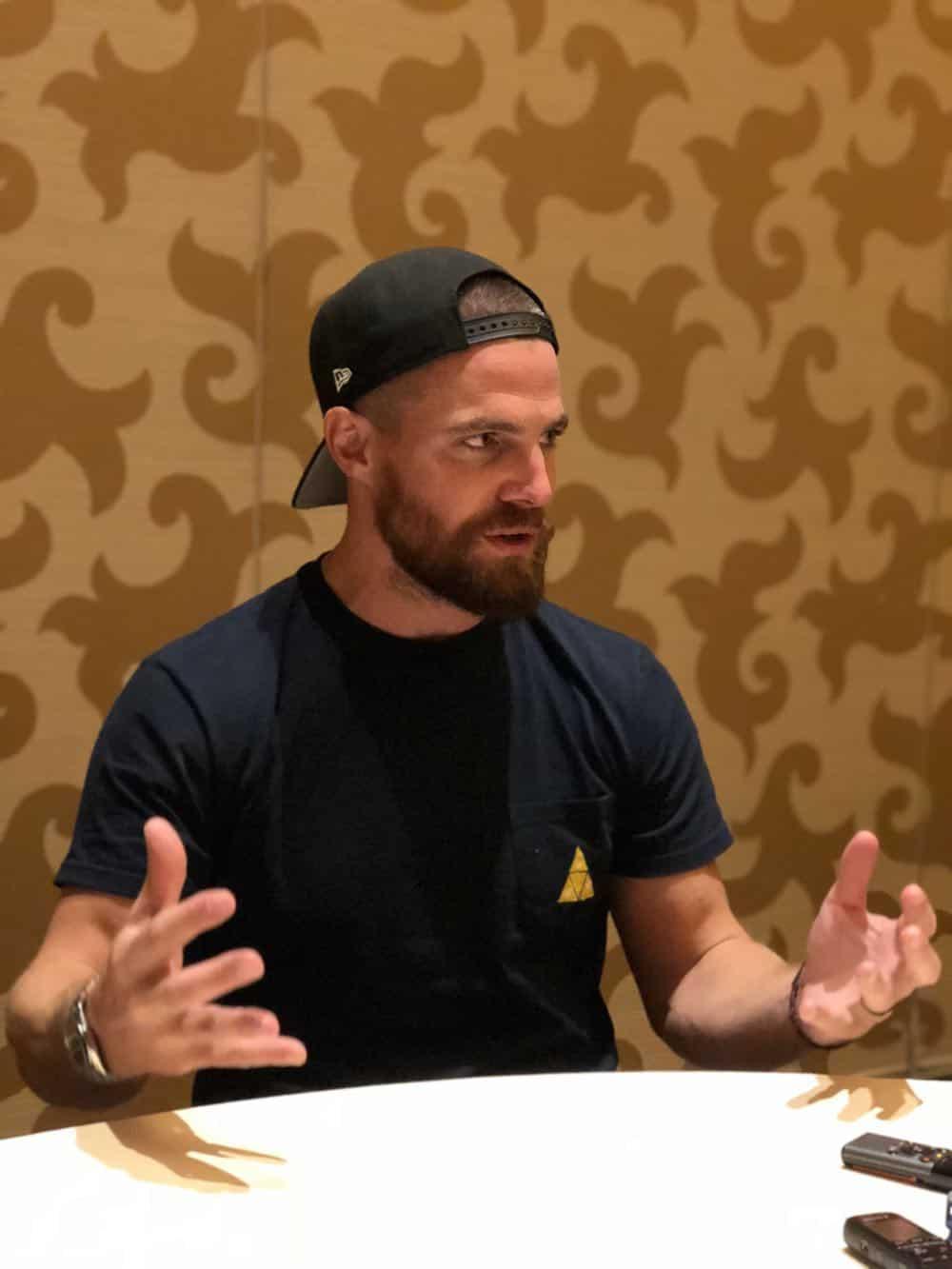 Arrow Press Room Comic Con 2018 06