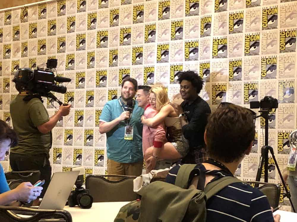 Arrow Press Room Comic Con 2018 07