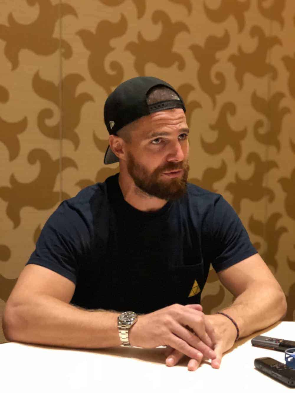 Arrow Press Room Comic Con 2018 03