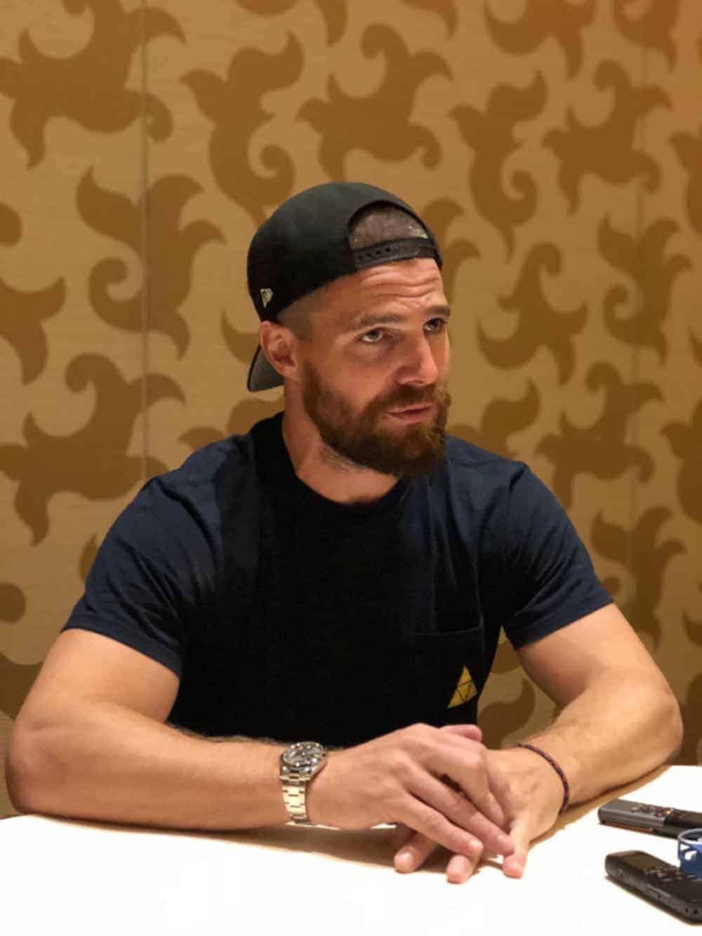 Arrow Press Room Comic Con 2018 03