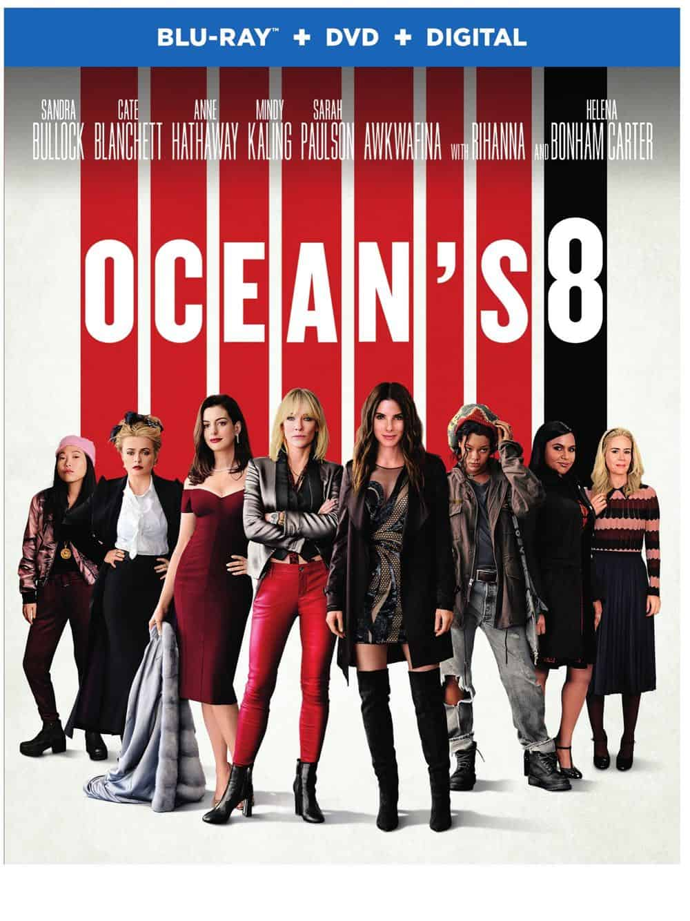 Oceans 8 Bluray DVD Digital 1