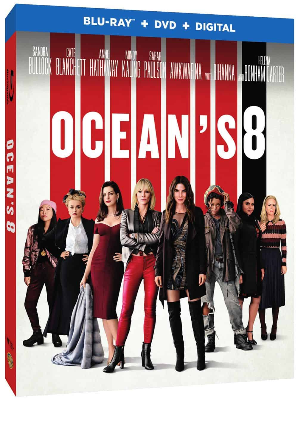 Oceans 8 Bluray DVD Digital 2