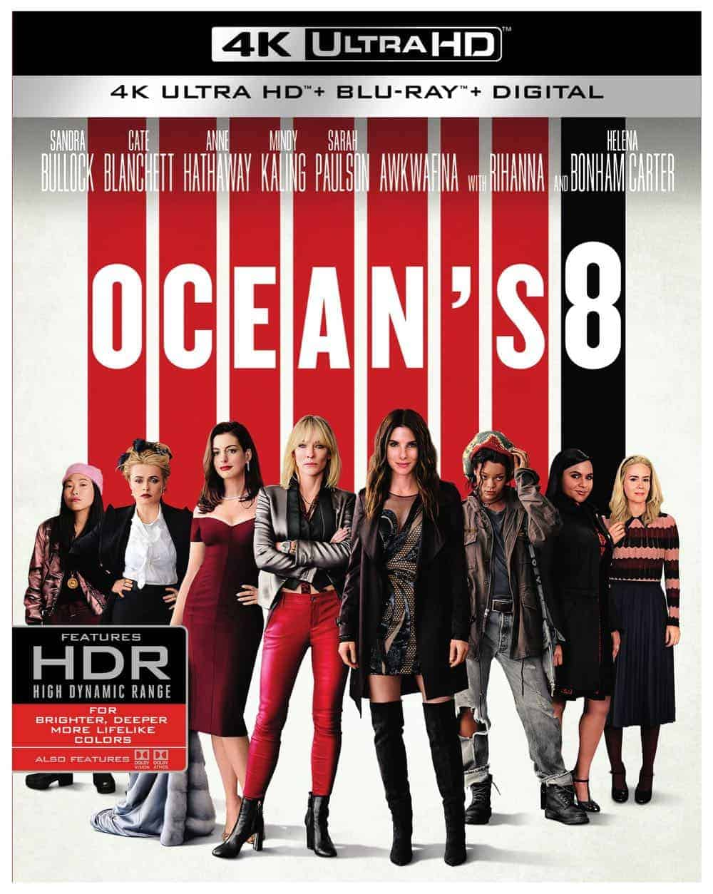 Oceans 8 4K Ultra HD Bluray 1