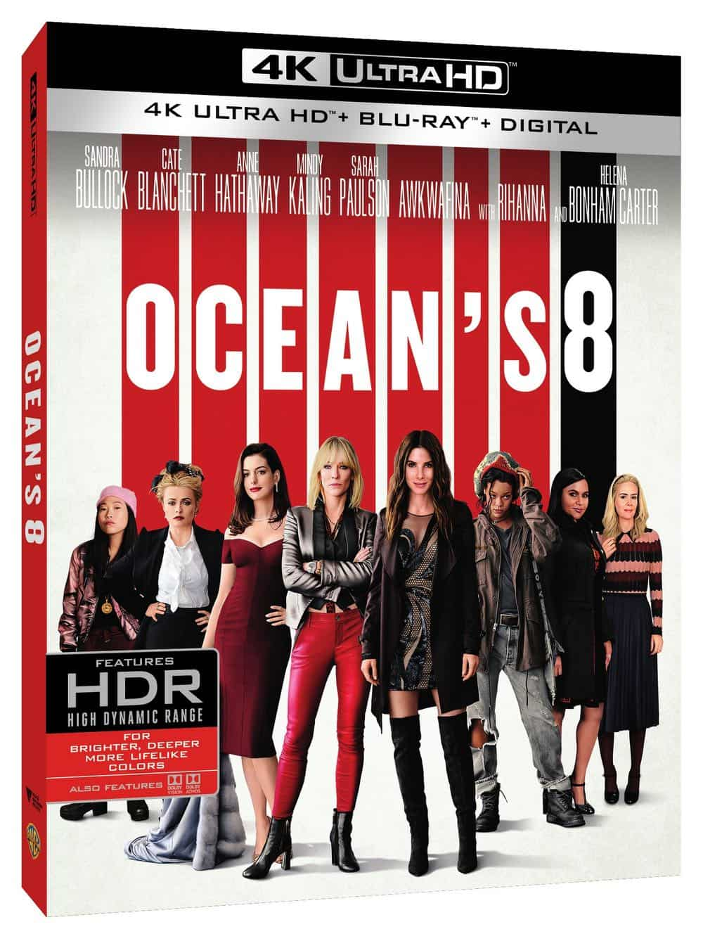 Oceans 8 4K Ultra HD Bluray 2