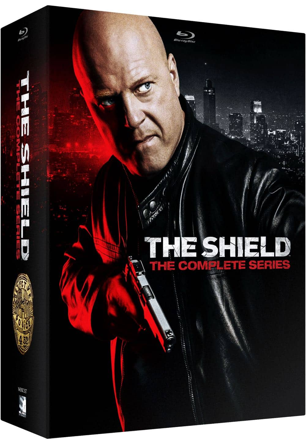 THE SHIELD The Complete Series Blu ray Collectors Edition 3D