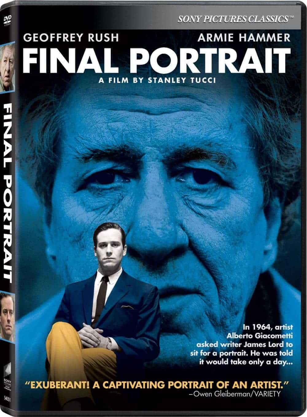 Final Portrait DVD