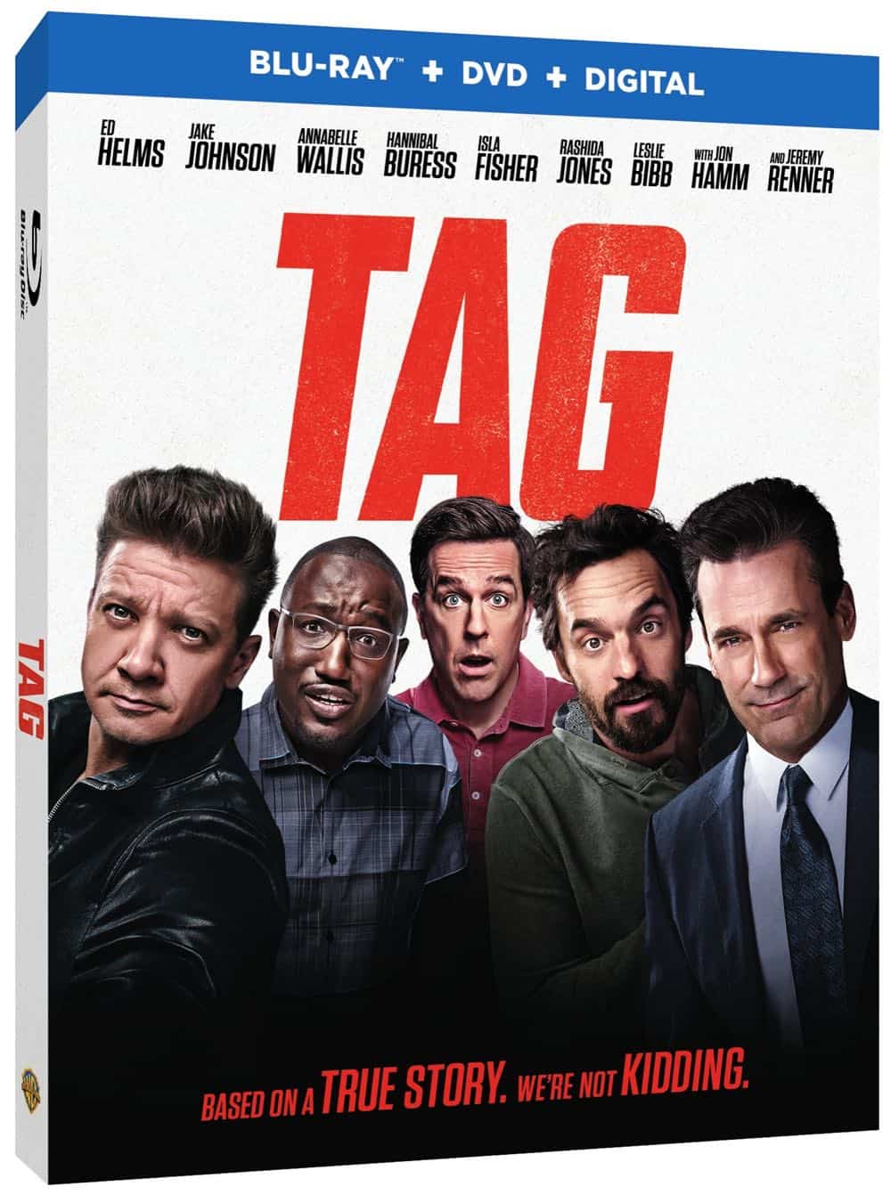 Tag Bluray DVD Digital Box Cover Artwork 1
