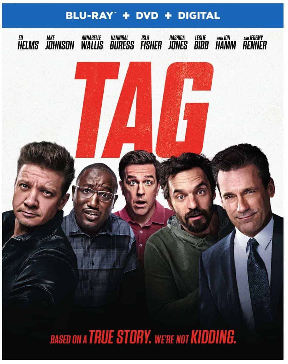 Tag Bluray DVD Digital Box Cover Artwork 2