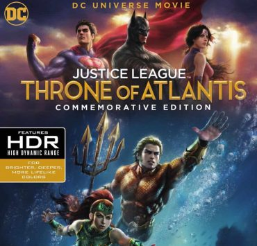 JUSTICE LEAGUE: THRONE OF ATLANTIS Commemorative Edition 4K