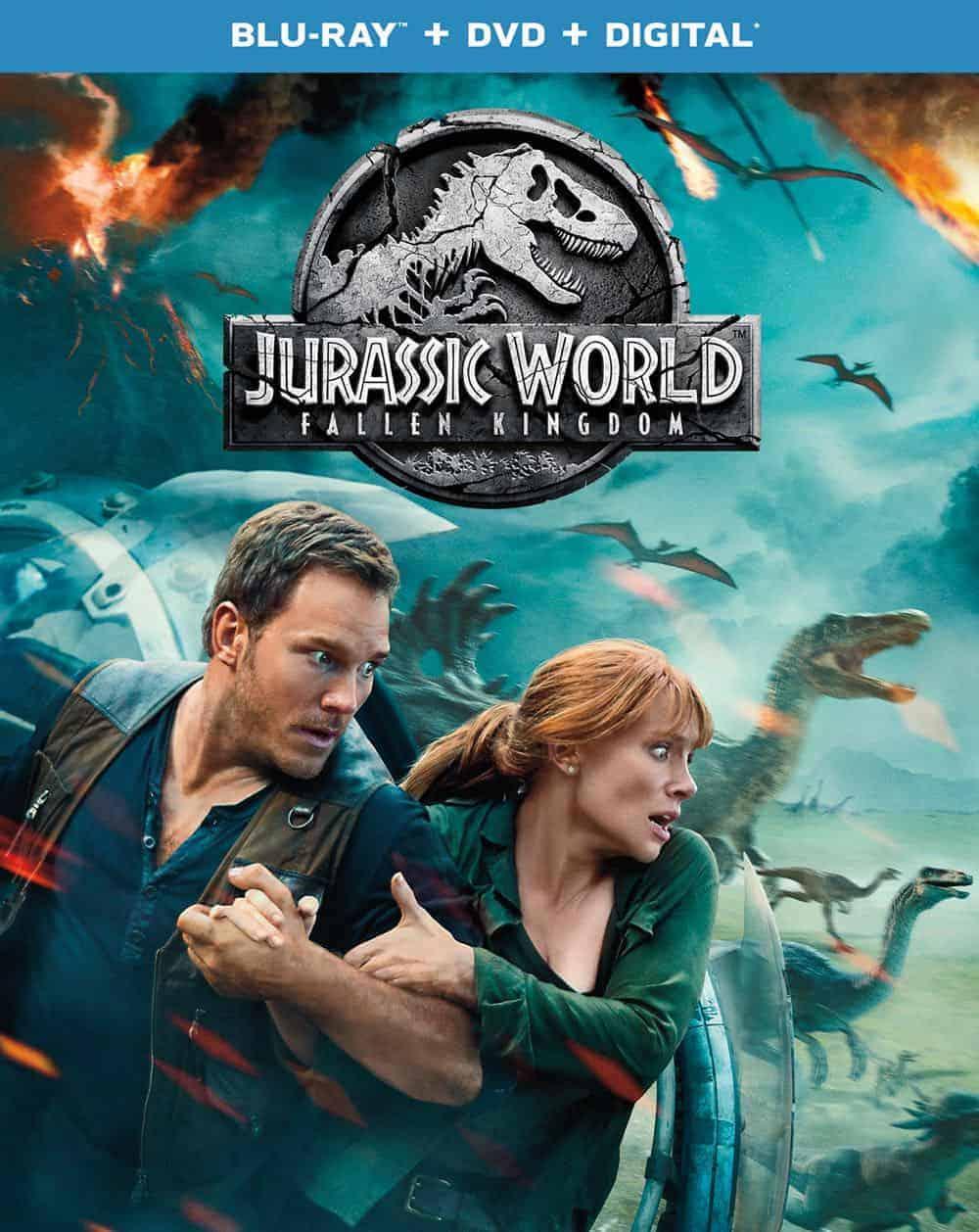 Jurassic World Fallen Kingdom Flat BD Box Art