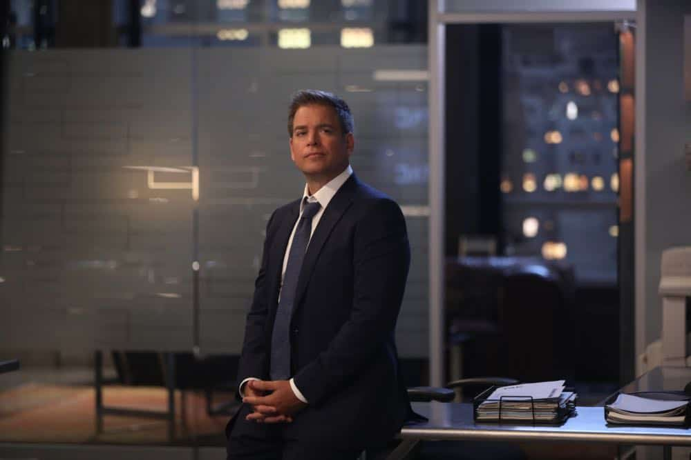 """The Ground Beneath Their Feet""--Bull returns to work after his heart attack with a new client for the firm to represent in civil court, an insurance company being sued by a dying mother for denying her a liver transplant, on the third season premiere of  BULL, Monday, Sept. 24 (10:00-11:00 PM, ET/PT) on the CBS Television Network.  Pictured: Michael Weatherly as Dr. Jason Bull  Photo: Craig Blankenhorn/CBS ©2018 CBS Broadcasting, Inc. All Rights Reserved"