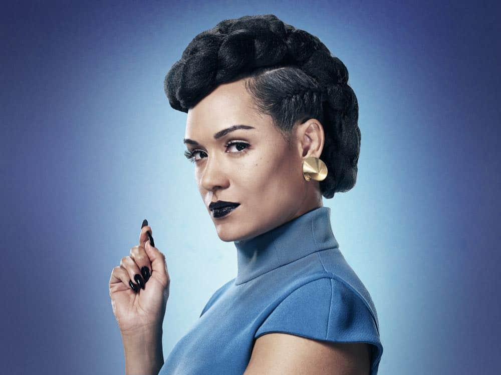 THE GIFTED:  Grace Byers as Reeva Payge in Season Two of THE GIFTED premiering Tuesday, Sept. 25 (8:00-9:00 PM ET/PT) on FOX. ©2018 Fox Broadcasting Co. Cr:  Justin Stephens/FOX