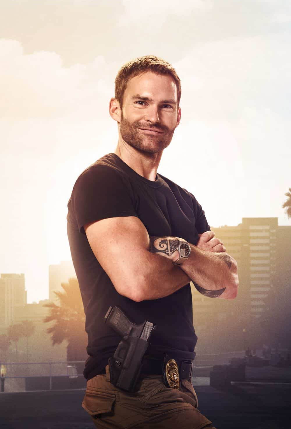 LETHAL WEAPON: Seann William Scott. Season three of LETHAL WEAPON premiers Tuesday, Sept. 25 (9:00-10:00 PM ET/PT) on FOX. ©2018 Fox Broadcasting Co. CR: Peter Yang/FOX