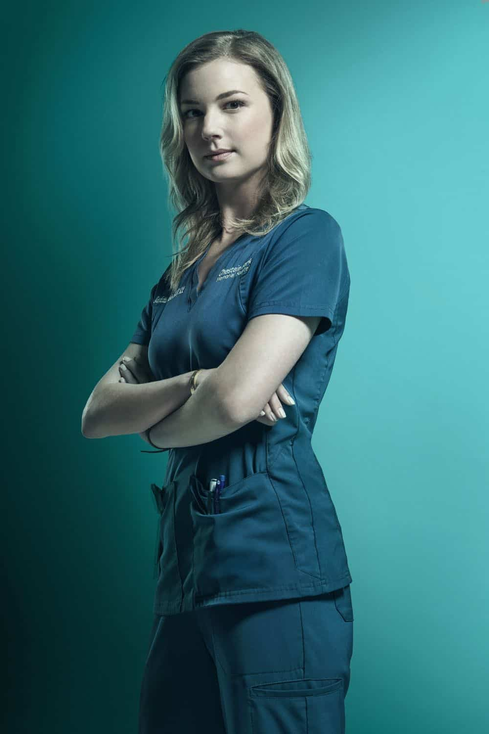 THE RESIDENT: Emily VanCamp as Nicolette Nevin in the second season of THE RESIDENT premiering Monday, Sept. 24 (8:00-9:00 PM ET/PT) on FOX. ©2018 Fox Broadcasting Co. Cr: Miranda Penn Turin/FOX