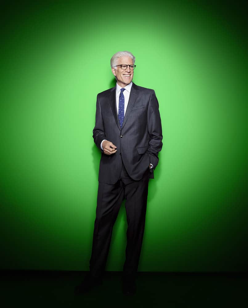 THE GOOD PLACE -- Season: 3 -- Pictured: Ted Danson as Michael -- (Photo by: Andrew Eccles/NBC)