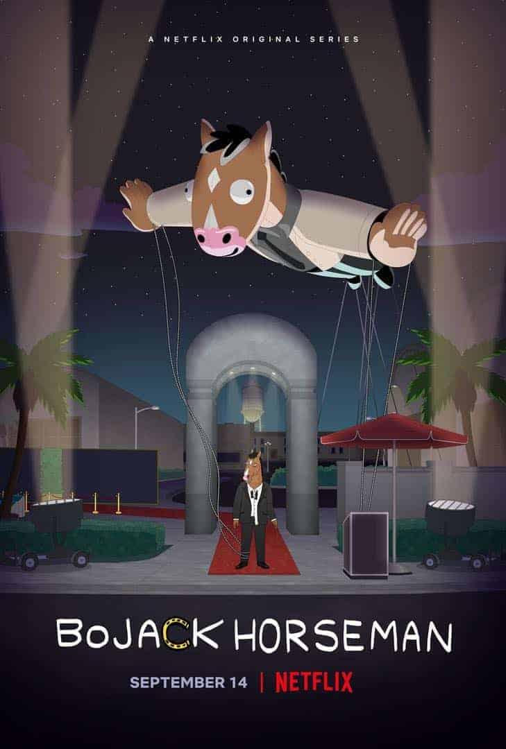 BoJack Horseman Season 5 Poster Key Art