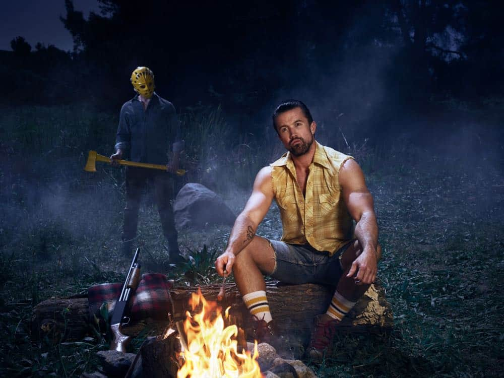 IT'S ALWAYS SUNNY IN PHILADELPHIA -- Pictured: Rob McElhenney as Mac. CR: Patrick McElhenney/FXX