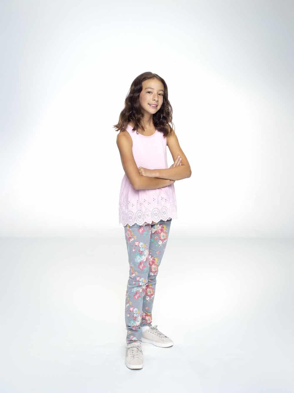 "MODERN FAMILY - ABC's ""Modern Family"" stars Aubrey Anderson-Emmons as Lily Tucker-Pritchett. (ABC/Robert Ashcroft)"