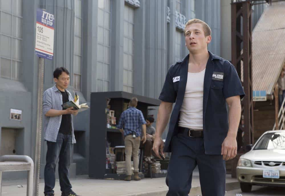 "Jeremy Allen White as Lip Gallagher in SHAMELESS (Season 9, Episode 02, ""Mo White for President""). - Photo: Paul Sarkis/SHOWTIME - Photo ID: SHAMELESS_902_370"