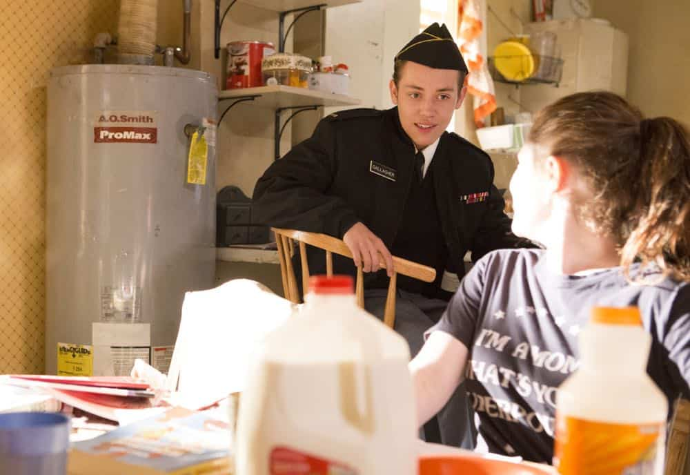"Ethan Cutkosky as Carl Gallagher in SHAMELESS (Season 9, Episode 02, ""Mo White for President""). - Photo: Paul Sarkis/SHOWTIME - Photo ID: SHAMELESS_902_850"