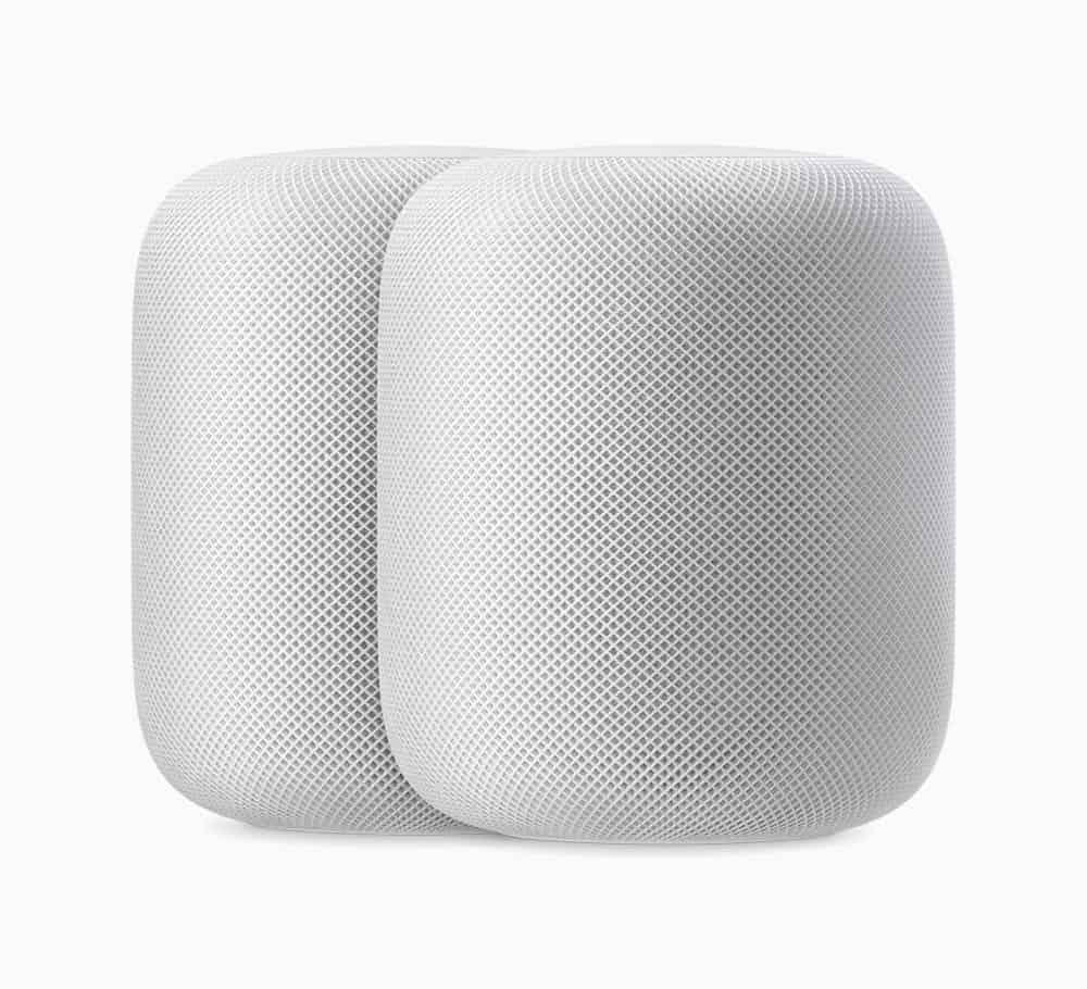 Apple HomePod 2up white 09122018