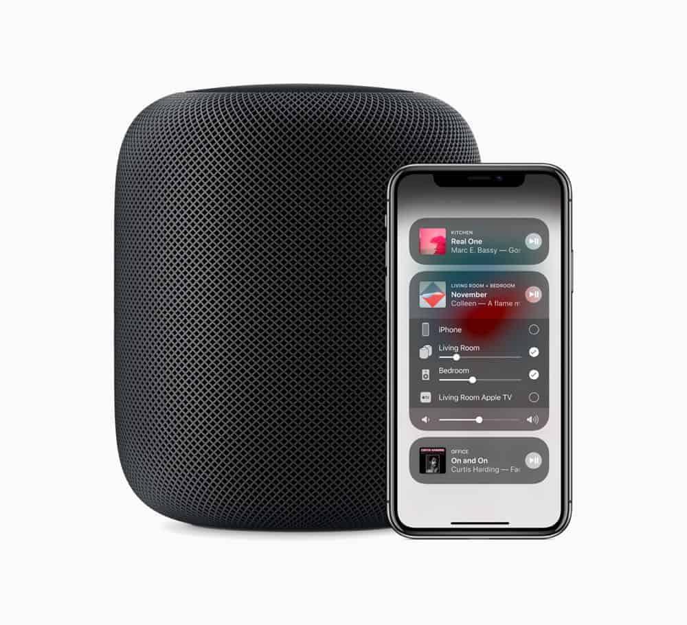 Apple HomePod Pair iPhoneX 09122018