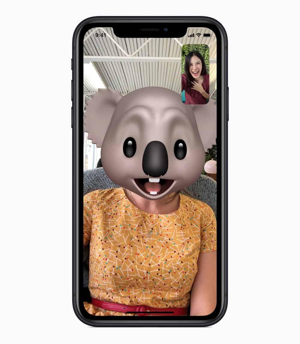 iPhone XR Memoji 09122018