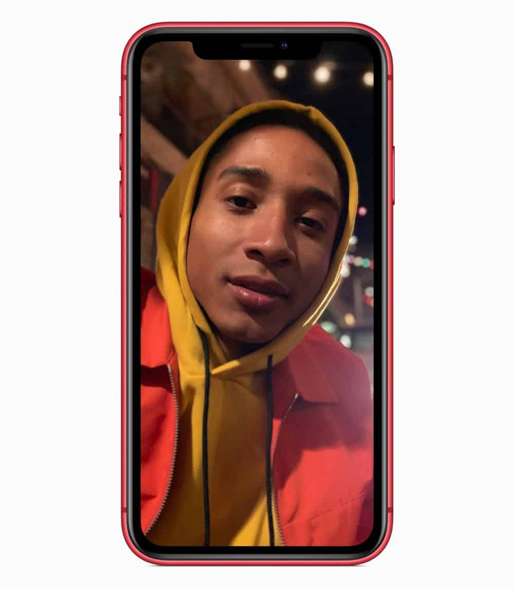 iPhone XR portrait red 09122018