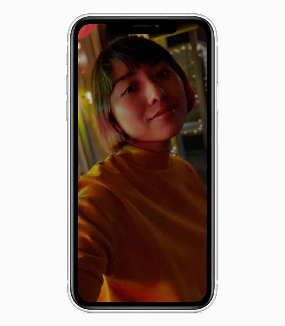 iPhone XR portrait white 09122018