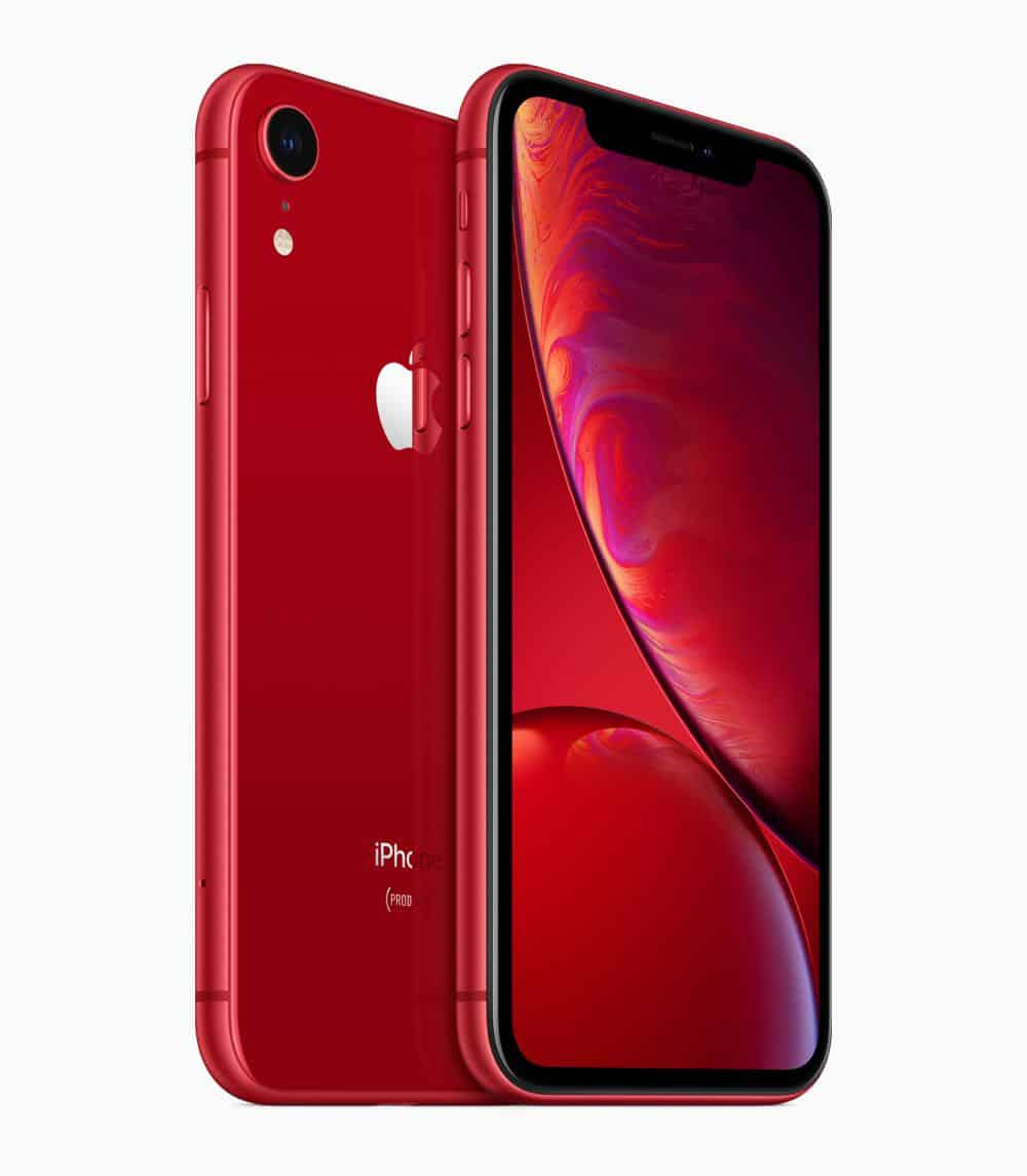 iPhone XR red back 09122018