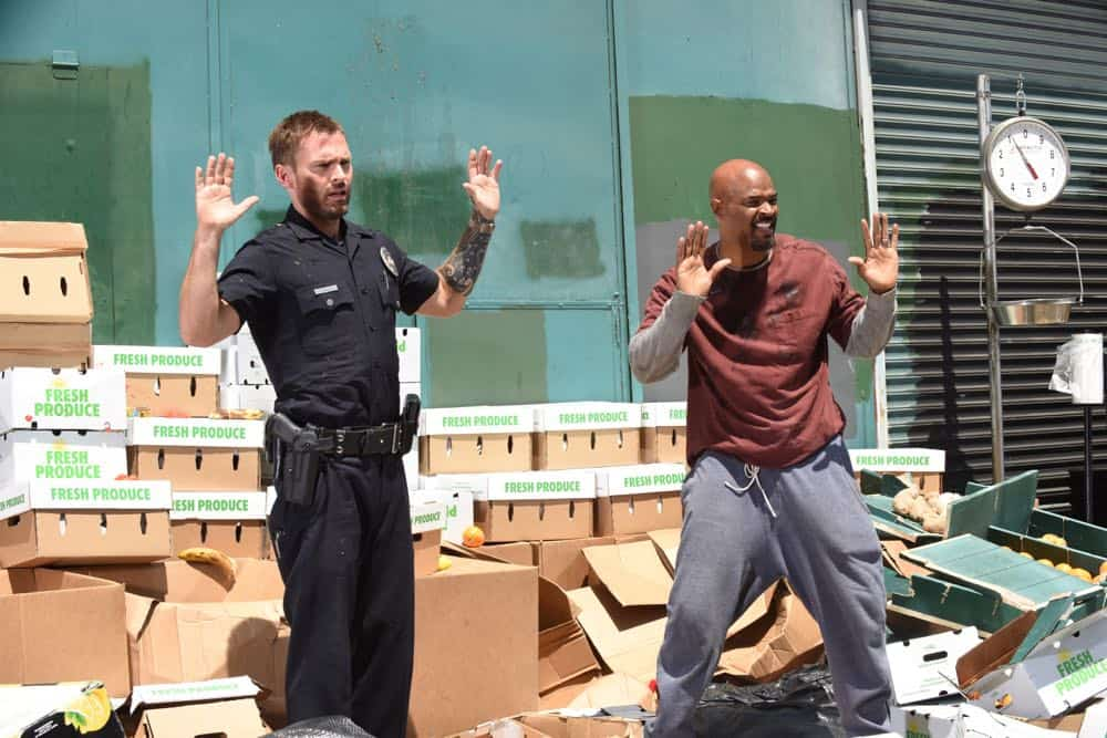 """LETHAL WEAPON: L-R:  Seann William Scott in the """"In The Same Boat"""" season premiere episode of LETHAL WEAPON airing Tuesday, September 25 (9:00-10:00 PM ET/PT) on FOX. ©2018 Fox Broadcasting Co. CR: Ray Mickshaw/FOX"""