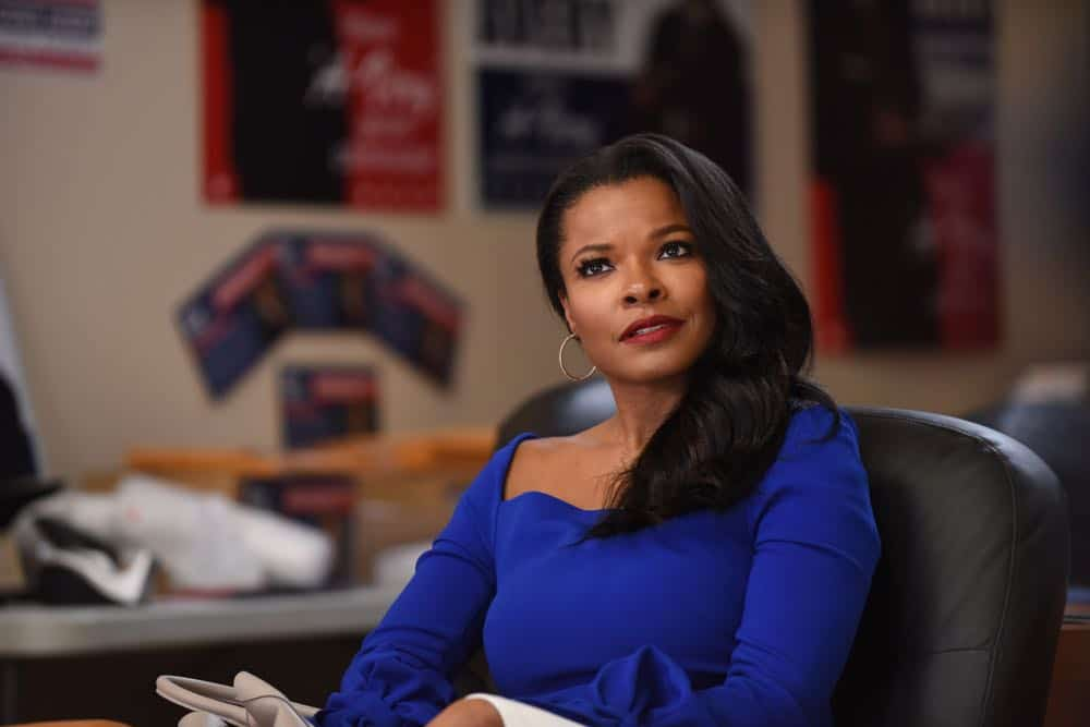 "LETHAL WEAPON: Keesha Sharp in the ""In The Same Boat"" season premiere episode of LETHAL WEAPON airing Tuesday, September 25 (9:00-10:00 PM ET/PT) on FOX. ©2018 Fox Broadcasting Co. CR: Ray Mickshaw/FOX"
