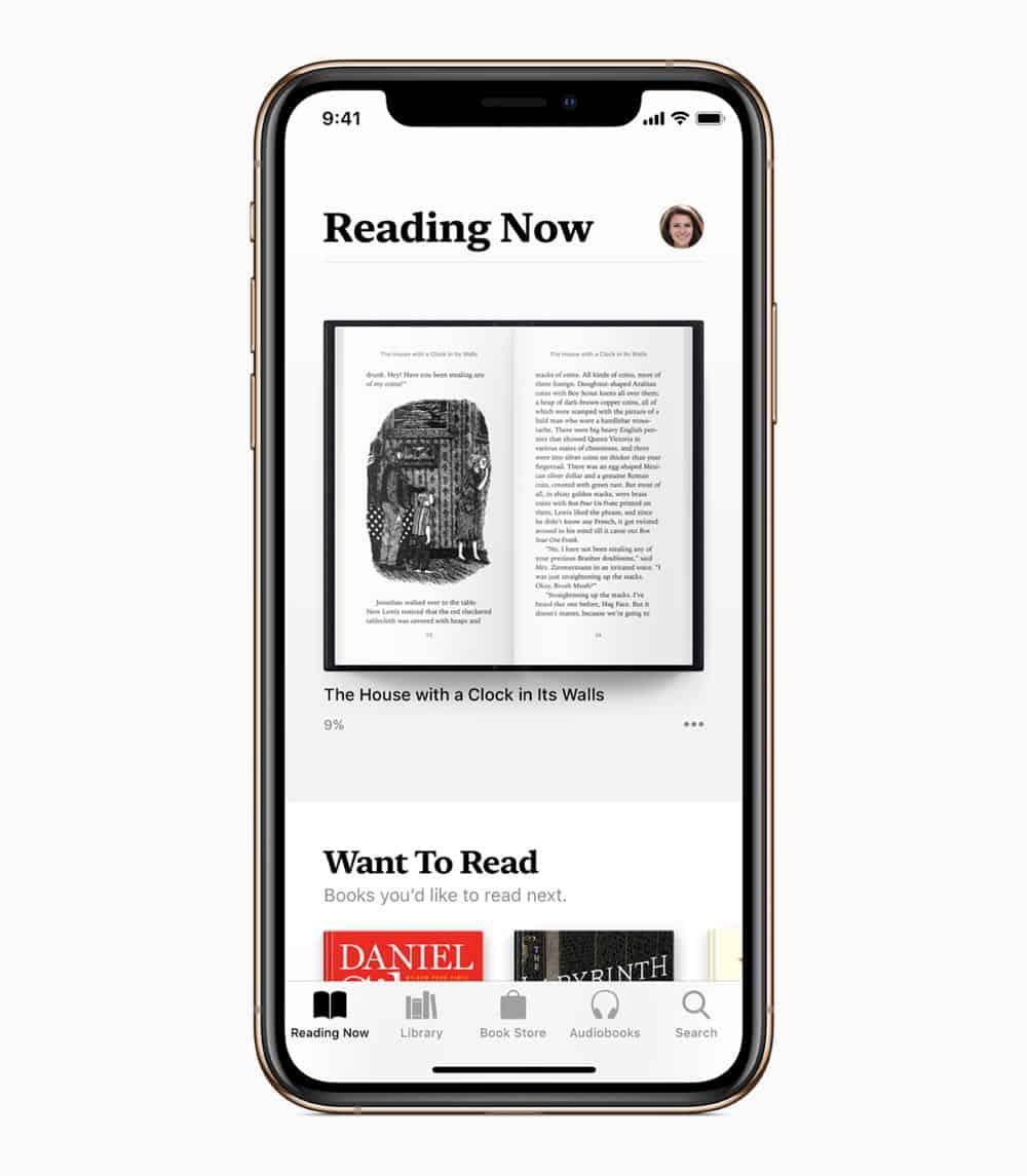 iOS12 iPhoneXs AppleBooks 09172018