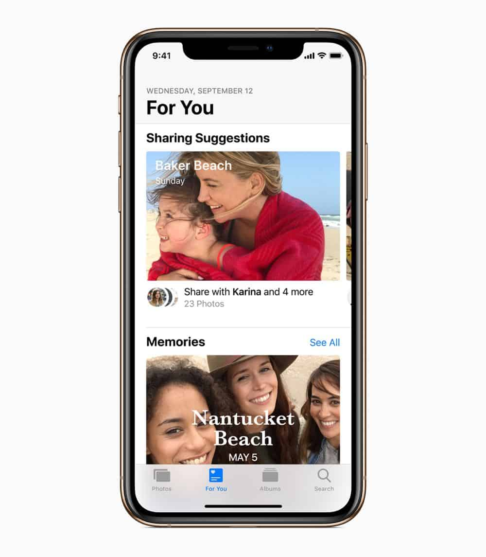 iOS12 iPhoneXs Gold PhotoSharing 09172018