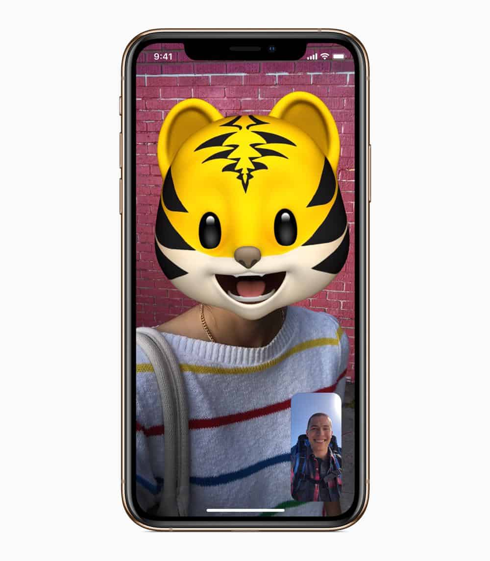 iOS12 iPhoneXs Memoji Cat 09172018