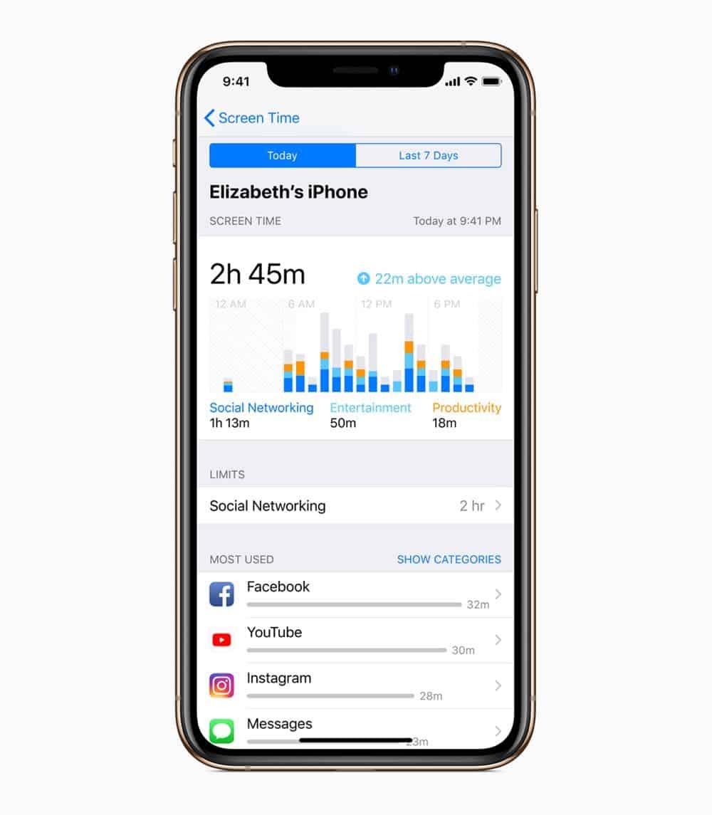 iOS12 iPhoneXs ScreenTime 09172018
