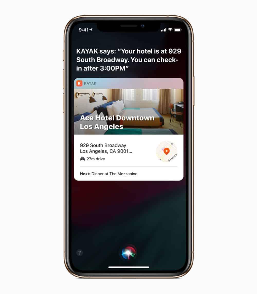 iOS12 iPhoneXs SiriTravelPlans 09172018