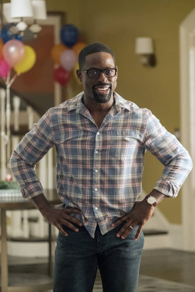 "THIS IS US -- ""Ave Maria"" Episode 301 -- Pictured: Sterling K. Brown as Randall -- (Photo by: Ron Batzdorff/NBC)"