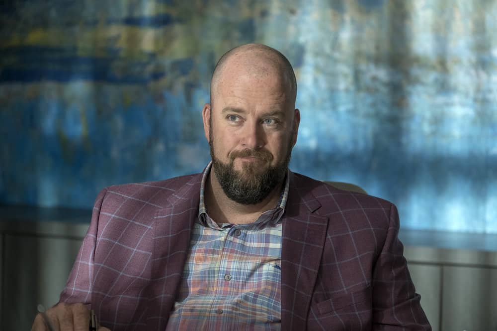 "THIS IS US -- ""Ave Maria"" Episode 301 -- Pictured: Chris Sullivan as Toby -- (Photo by: Ron Batzdorff/NBC)"
