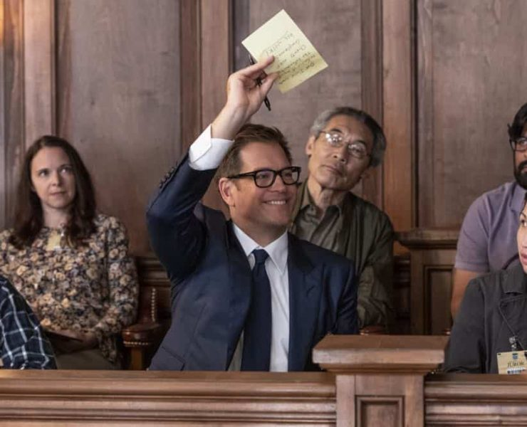 """""""Jury Duty""""--Bull finds himself on the opposite side of voire dire when he must serve jury duty while simultaneously mounting a defense for a woman on trial for killing her daughter's murderer, on BULL, Monday, Oct. 1 (10:00-11:00 PM, ET/PT) on the CBS Television Network. Pictured: Michael Weatherly as Dr. Jason Bull Photo: David Giesbrecht/CBS ©2018 CBS Broadcasting, Inc. All Rights Reserved"""