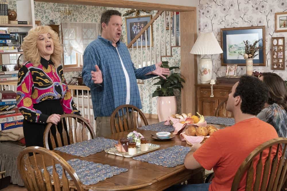 "THE GOLDBERGS - ""Sixteen Candles"" - It's Adam's 16th birthday, but his parents are too distracted by Barry and Lainey's engagement and Erica's band ambitions to remember their youngest son's big day. But the situation presents an opportunity for Adam to ask Erica to put him on the high school social map.  Meanwhile, Beverly thinks she can scare Barry and Lainey straight with the reality of being adults, on the season premiere of ""The Goldbergs,"" WEDNESDAY, SEPT. 26 (8:00–8:30 p.m. EDT), on The ABC Television Network. (ABC/Ron Tom) WENDI MCLENDON-COVEY, JEFF GARLIN, TROY GENTILE"