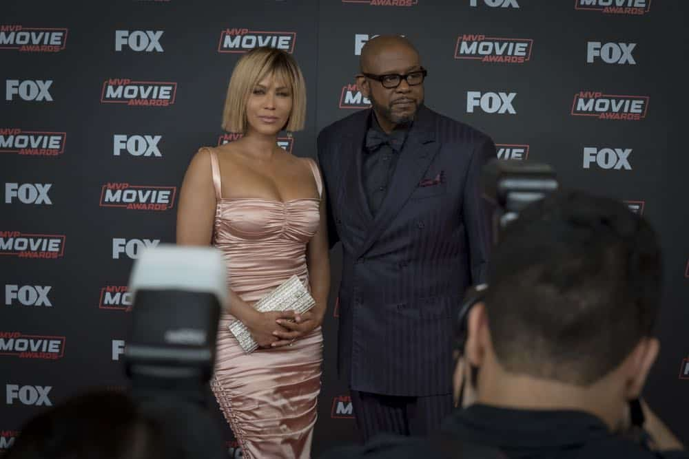 "EMPIRE: L-R: Nicole Ari Parker and Forest Whitaker in the ""Steal From the Thief"" Season Five premiere episode of EMPIRE airing Wednesday, September 26 (8:00-9:00 PM ET/PT) on FOX. @2018 Fox Broadcasting Co. CR: Chuck Hodes/FOX."