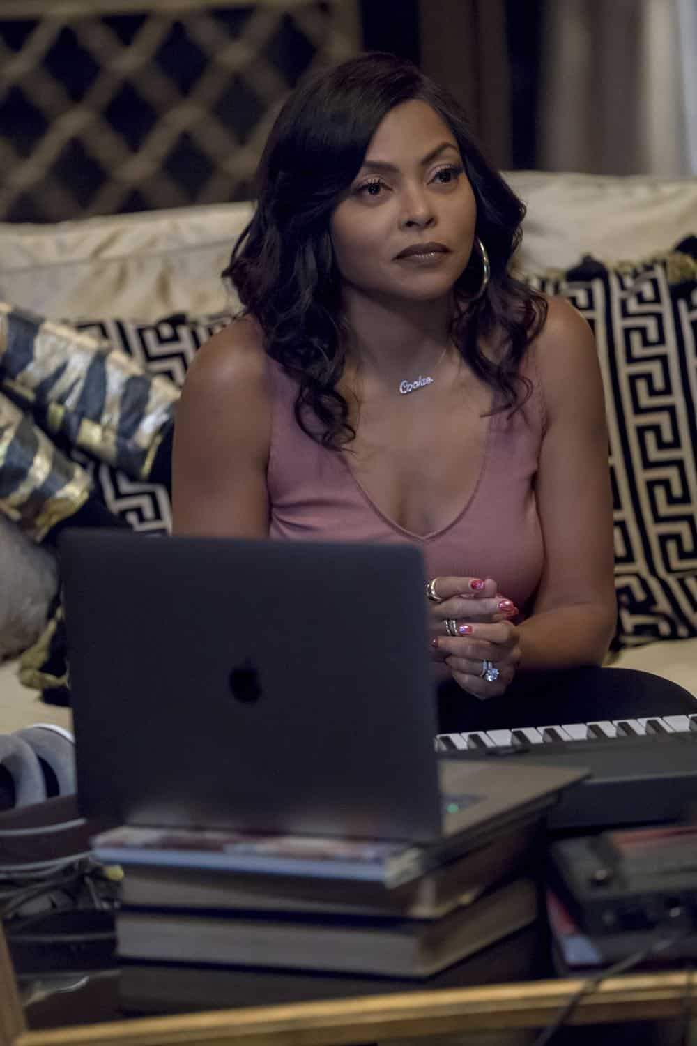 "EMPIRE: Taraji P. Henson in the ""Steal From the Thief"" Season Five premiere episode of EMPIRE airing Wednesday, September 26 (8:00-9:00 PM ET/PT) on FOX. @2018 Fox Broadcasting Co. CR: Chuck Hodes/FOX."