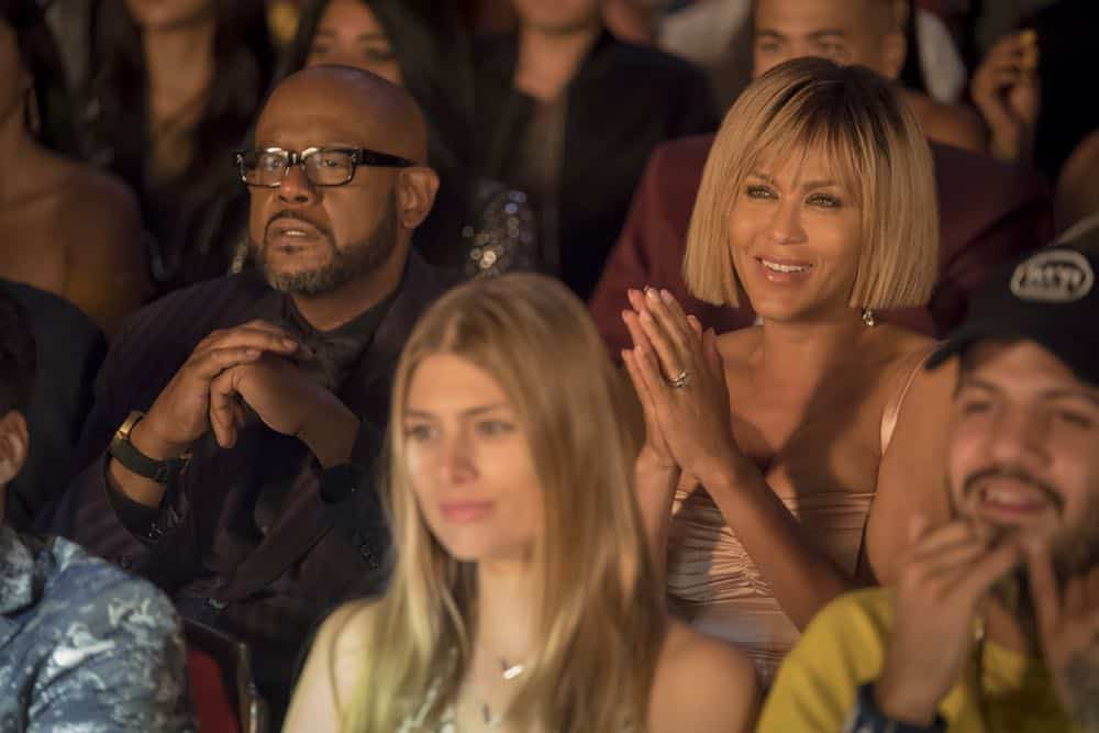 "EMPIRE: L-R: Forest Whitaker and Nicole Ari Parker in the ""Steal From the Thief"" Season Five premiere episode of EMPIRE airing Wednesday, September 26 (8:00-9:00 PM ET/PT) on FOX. @2018 Fox Broadcasting Co. CR: Chuck Hodes/FOX."