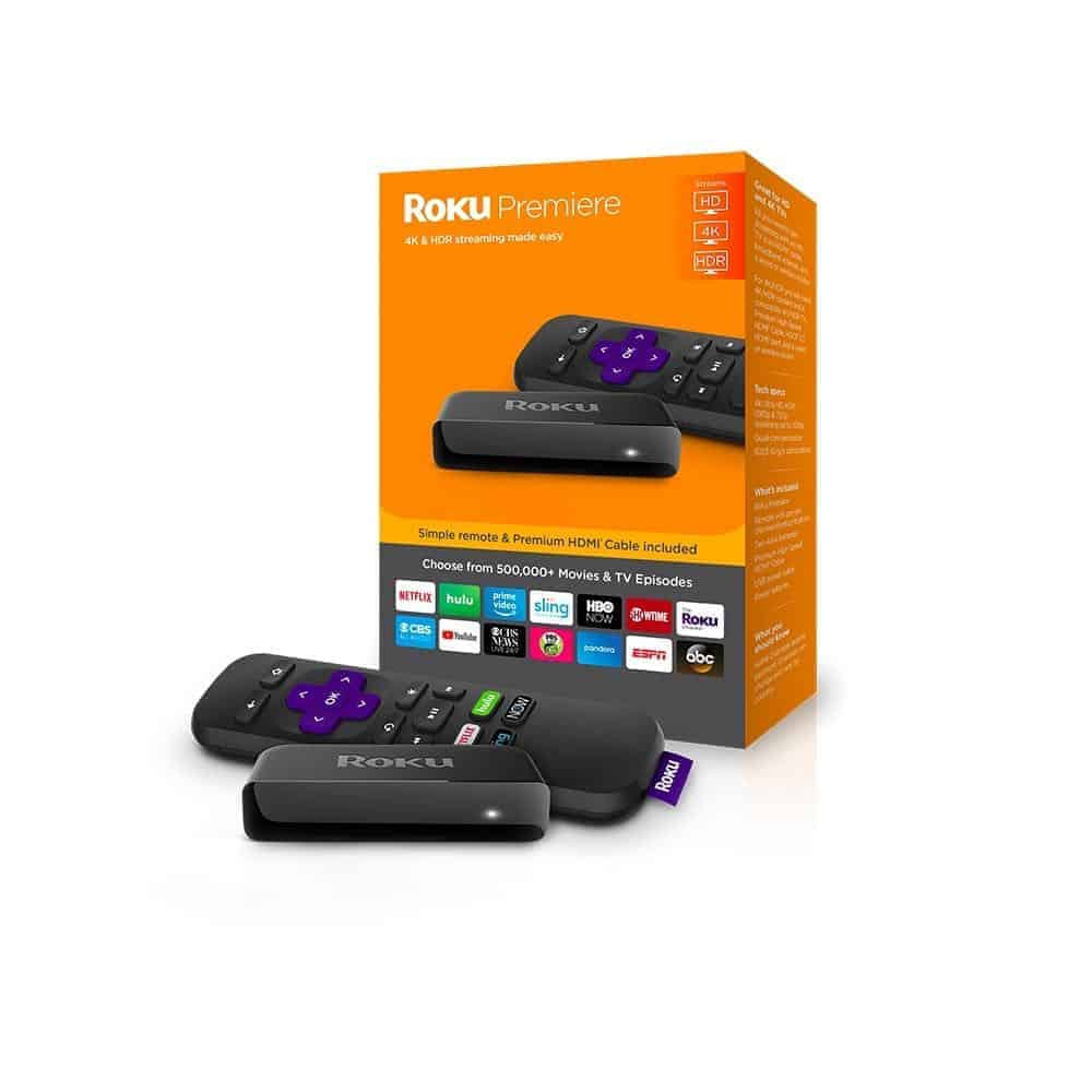 Photo roku premiere 2018 packaging and device
