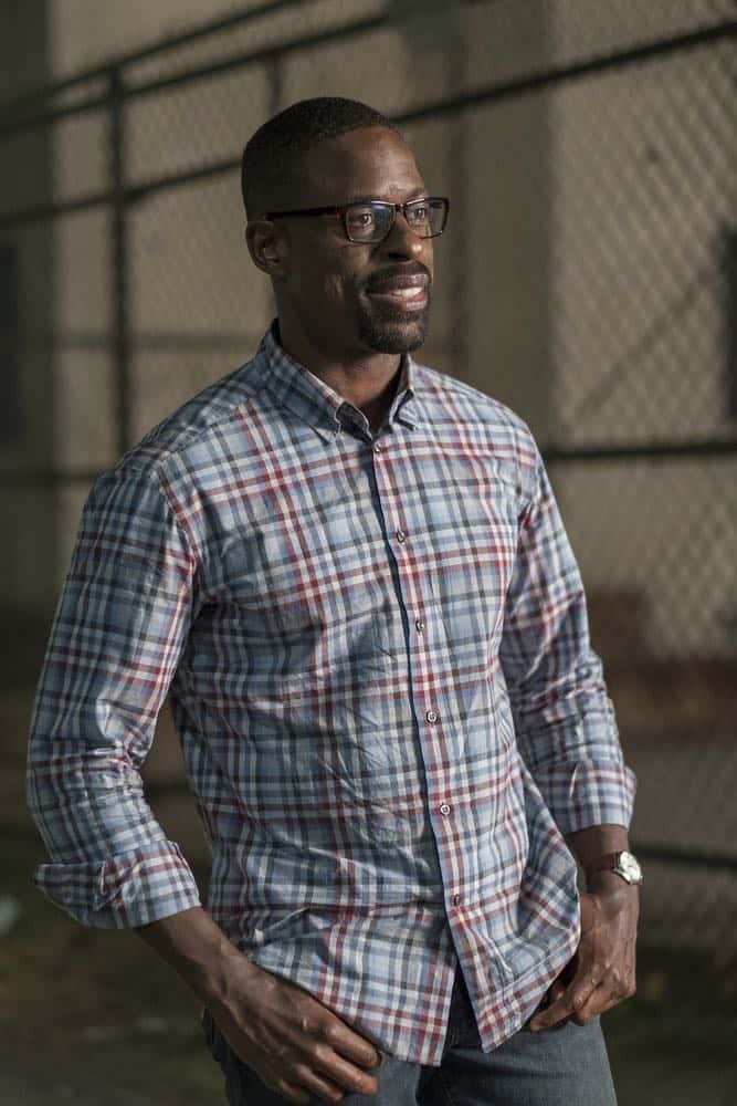 "THIS IS US -- ""A Philadelphia Story"" Episode 302 -- Pictured: Sterling K. Brown as Randall Pearson -- (Photo by: Ron Batzdorff/NBC)"