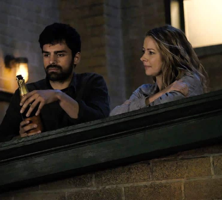 "THE GIFTED: L-R: Sean Teale and Amy Acker in the ""unMoored"" episode of THE GIFTED airing Tuesday, Oct. 2 (8:00-9:00 PM ET/PT) on FOX. ©2018 Fox Broadcasting Co. Cr: Guy D'Alema/FOX."